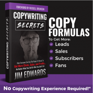 The Copywriting Secrets book by Jim Edwards